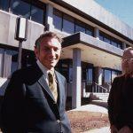 Bob Noyce and Gordon Moore Intel Startup
