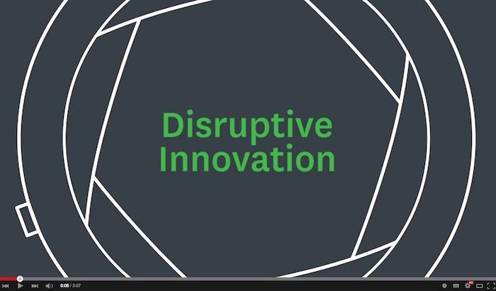 Video Disruptive Innovation