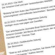 eCommerce Amazon Jeff Bezos