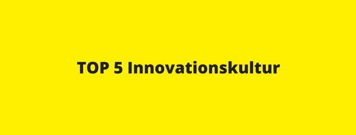 Top 5 Maßnahmen Steigerung Innovationskultur
