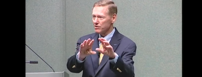 Alan Mulally in der Stanford Vorlesung