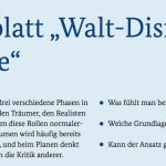 Arbeitsblatt Walt Disney Methode