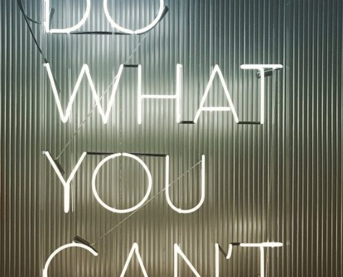 do what you can't