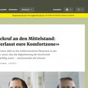 Open Innovation NZZ