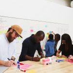 Googlers brainstorming Innovation