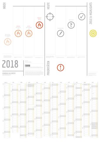 Kanban-Kalender 2018 Download