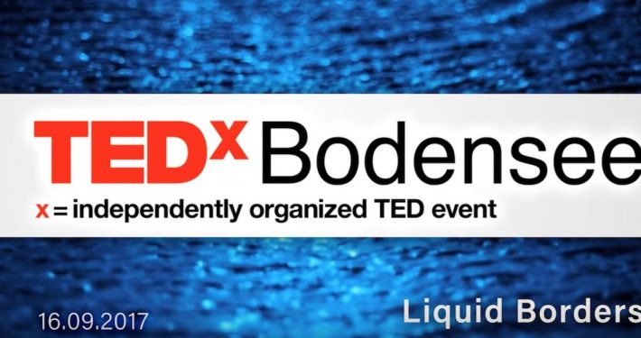 TEDxBodensee Liquid Borders