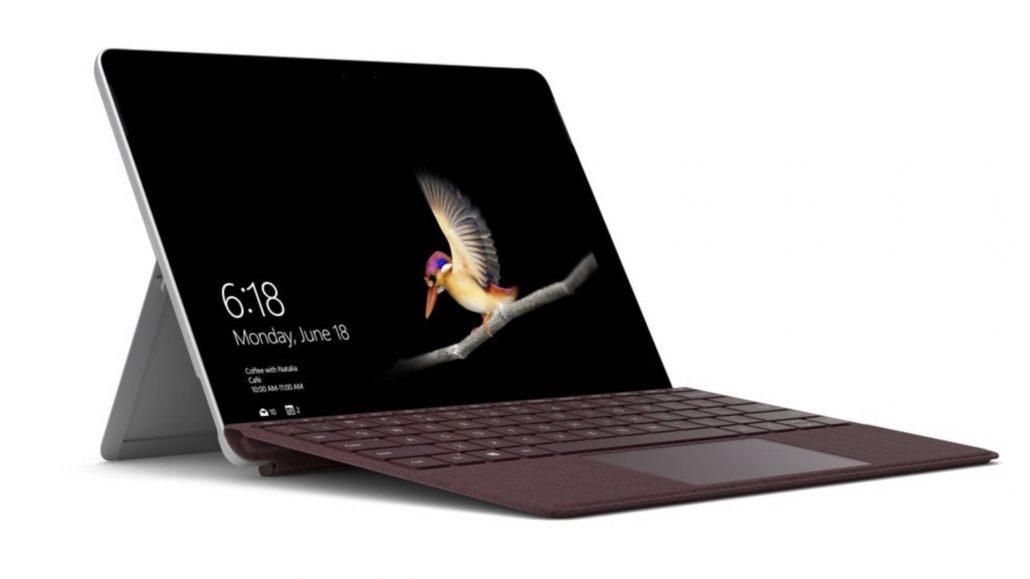 Surface Go mobil arbeiten