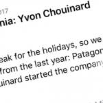 Yvon Chouinard - der Gründer von Patagonia
