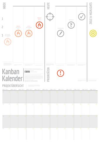 Kanban-Kalender 2019