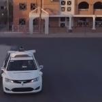 Autonomes Waymo Taxi