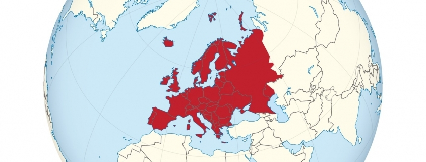 Europa Veränderung