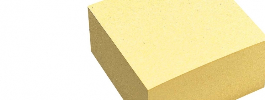 Ideation mit Recycling Post-it