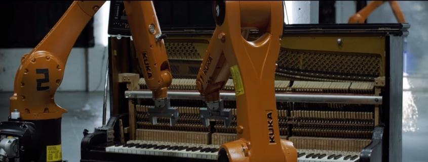 Roboter verändern die Welt Beispiel Automatica von Nigel Stanford