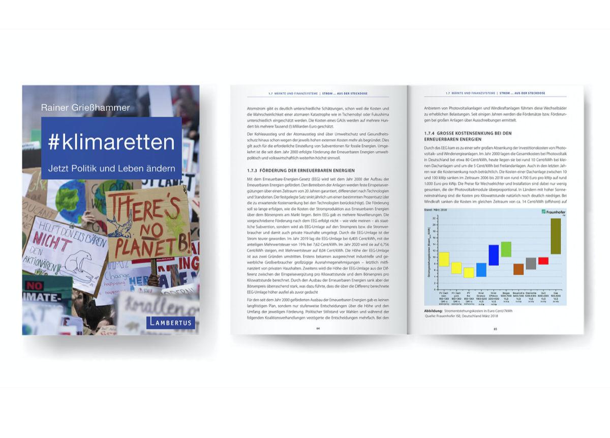 Rainer Griesshammer klimaretten Buch