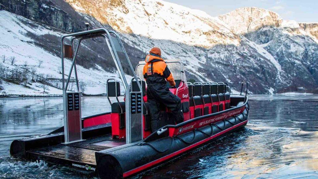 Evoy Pionier Elektromobilität auf dem Wasser