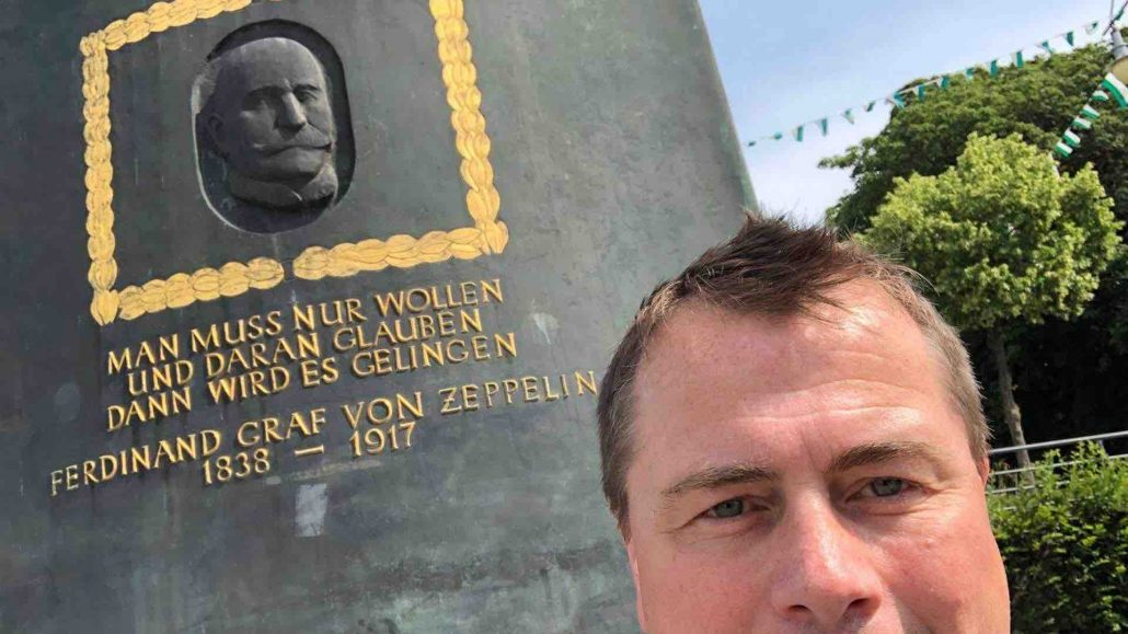 Zeppelin Denkmal